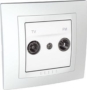 TV / FM РОЗЕТКА 47 - 860 MHz